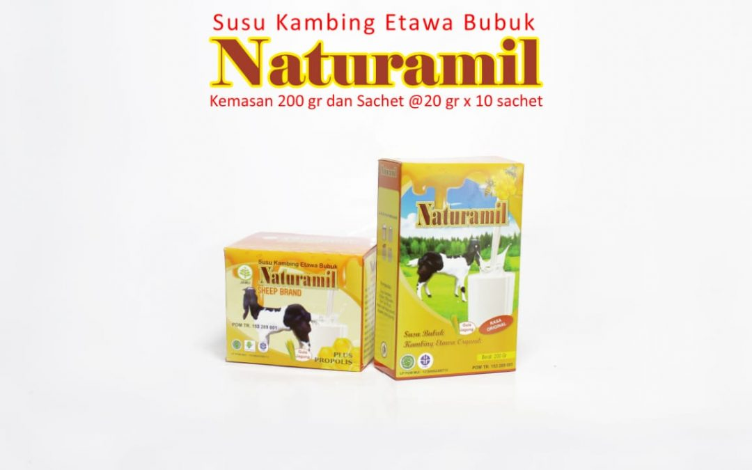 Jual Susu Kambing Etawa Bubuk Naturamil