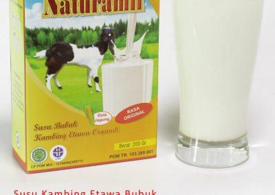 susu kambing etawa bubuk naturamil original 200gr