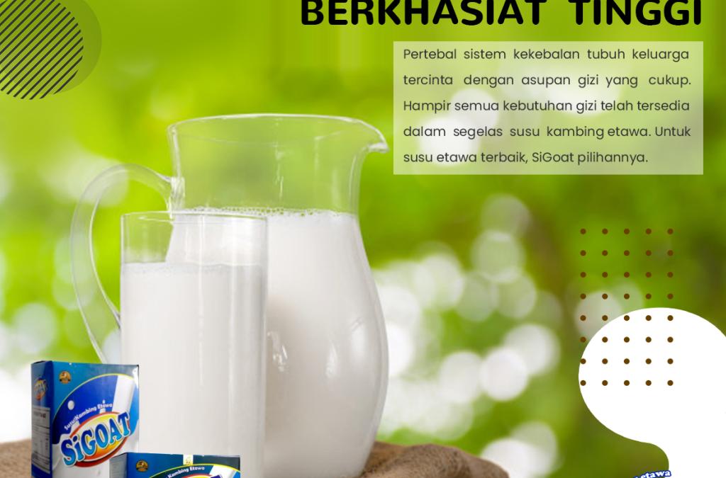 Daftar Susu Kambing Etawa Terbaik dan Termurah di Indonesia