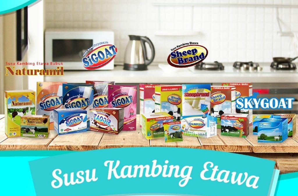 Jual Susu Kambing Etawa Murah di Medan