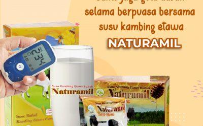 Jaga Gula Darah Selama Berpuasa dengan Naturamil