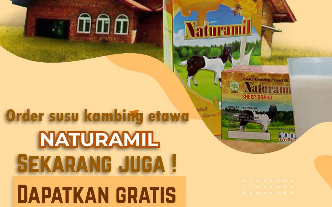 Order Susu Kambing Etawa Naturamil Gratis Ongkir