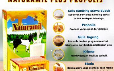 Komposisi Susu Sheepbrand Naturamil Plus Propolis